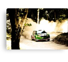The Rally Canvas Print