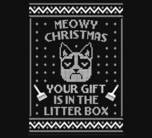 Grumpy Cat Ugly Christmas Sweater by beautytees