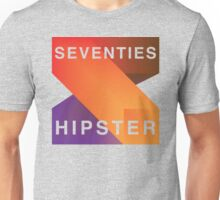 Seventies Hipster  Unisex T-Shirt