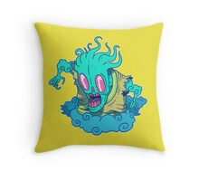 Kumo the Cloud Yokai Throw Pillow