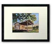 Texas Bandstand Framed Print