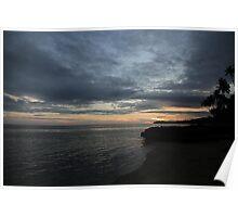 Fijian Sunset Poster