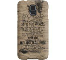 My Mind Rebels Samsung Galaxy Case/Skin