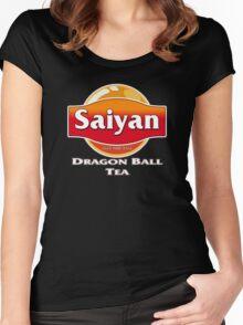 Saiyan Dragon Ball Tea Women's Fitted Scoop T-Shirt