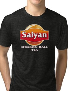 Saiyan Dragon Ball Tea Tri-blend T-Shirt