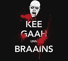 KEE GAAH unn BRAAINS! Unisex T-Shirt