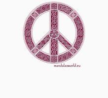 Celtic Peace Symbol Garnet Unisex T-Shirt