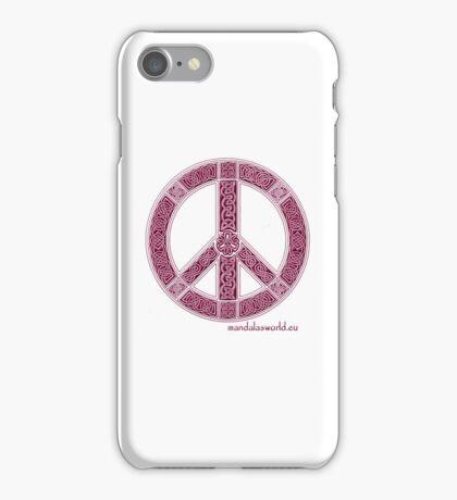 Celtic Peace Symbol Garnet iPhone Case/Skin