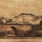 Dordogne at Bergerac by Irene  Burdell