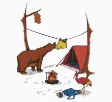 Bear and Bird Kids Clothes