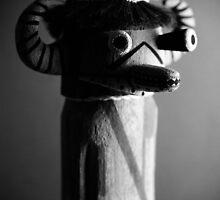 Buffalo God Doll by Carl  Onsae