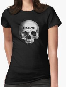HEALTH GOTH.  Womens Fitted T-Shirt