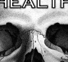 HEALTH GOTH.  Sticker