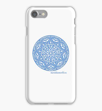 Celtic Knot n3 Blue iPhone Case/Skin