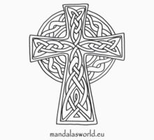 Celtic Cross n5 Dark by Mandala's World