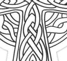 Celtic Cross n5 Dark Sticker