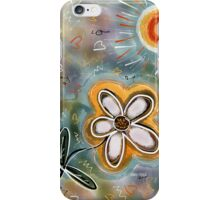 FLOWER FUN 3  iPhone Case/Skin