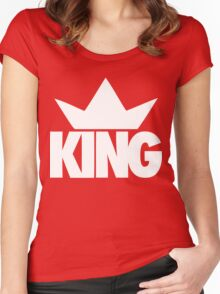 King Crown  Women's Fitted Scoop T-Shirt