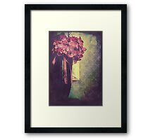Remember Paris Framed Print