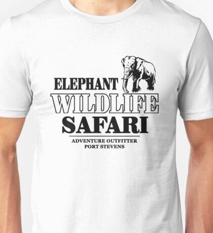 Elephant Wildlife Safari Unisex T-Shirt