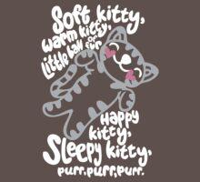 Soft Kitty HEARTs <3 - tee V2 Kids Clothes