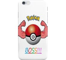 pokemon boss iPhone Case/Skin