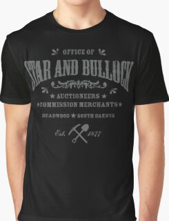 Office of Star and Bullock, Deadwood Graphic T-Shirt
