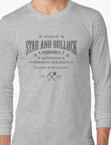 Office of Star and Bullock, Deadwood Long Sleeve T-Shirt