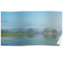 Floods on the River Severn 2 Poster