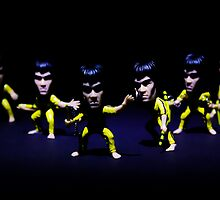 Kung Fu figter by Ian Hufton