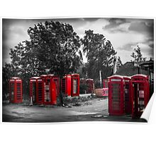 The Phonebox Graveyard Poster