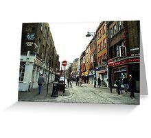 Brick Lane Greeting Card