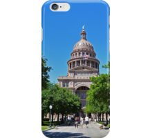 Texas State Capitol iPhone Case/Skin