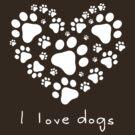 I love dogs (II) by neizan