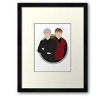 Father Ted Vector Artwork Framed Print