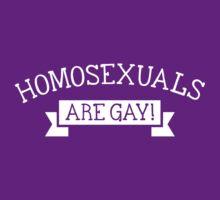 Homosexuals are gay by Cheesybee