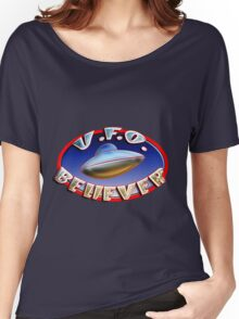 UFO Believer Women's Relaxed Fit T-Shirt