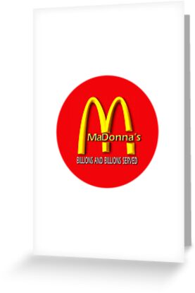 madonna's  (mcDonalds) by geot