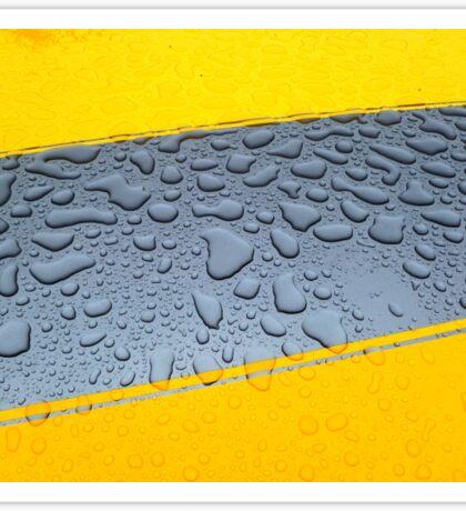 HDR Raindrops Sticker