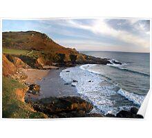Devon Coastline - Gara Rock Poster