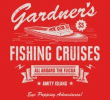 Gardner's Fishing Cruises One Piece - Short Sleeve