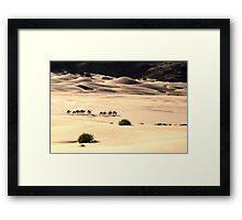 The caravan 03 Framed Print