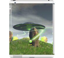 UFO and Ancient Stone Circle iPad Case/Skin