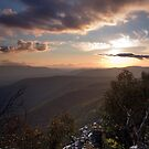 Sunset over Victoria Gap by Alex Fricke