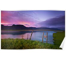 Arctic Sunset - Iceland Poster