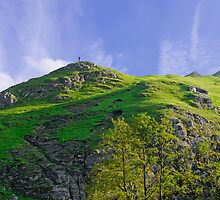 Thorpe Cloud Peaks, Dovedale  by Rod Johnson