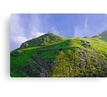 Thorpe Cloud Peaks, Dovedale  Canvas Print