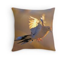 Birds of Flight Five Throw Pillow