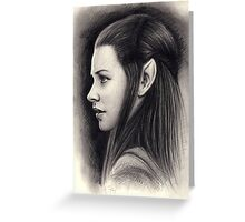 Tauriel Greeting Card