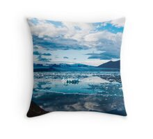 Cold Winds Throw Pillow